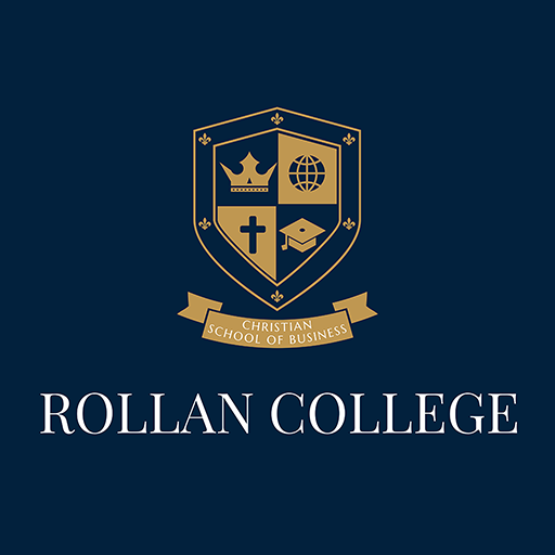 Rollan College Logo.Dr. Rolllan Roberts School of Entrepreneurship
